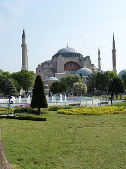 Istanbul, Turkey, Hagia Sophia, Mosque, Hagia Sofia