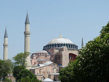 Istanbul, Hagia Sofia, Hagia Sophia, Mosque, Orient