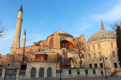 Istanbul, Turkey, Holy Sophie, Church, Hagia Sophia