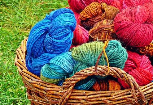 Wool, Knitting Wool, Cat's Cradle, Knitwear, Knitting
