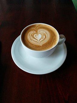 Coffee, Latte, Latte Art, Cafe, Drink, Cup, Espresso