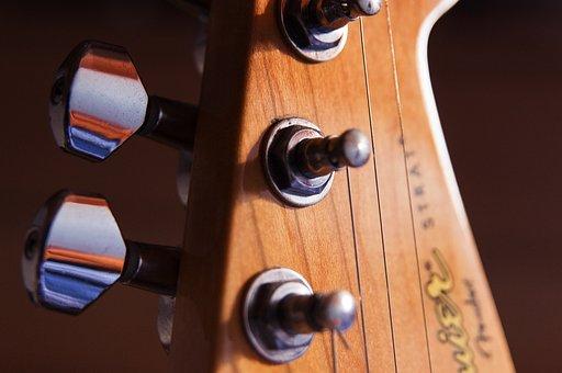 Guitar, Keys, Light, Colors, Music, Tool, Squier