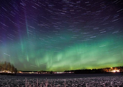 Northern Lights, Time Lapse, Aurora Borealis, Aurora