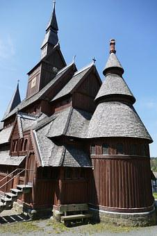 Stave Church, Towers, Roof, Goslar-hahnenklee, Old