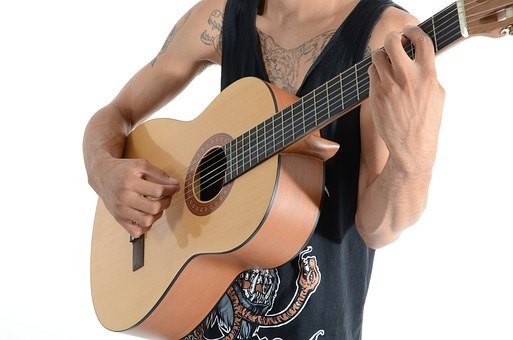 Boy, Tattoos, Guitar, Rock, Pop, Beautiful, Fashion