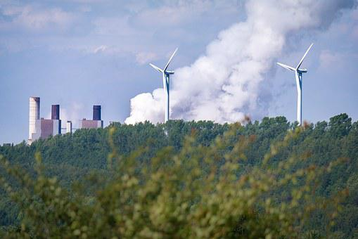 Windräder, Water Vapor, Power Plant, Power Generation