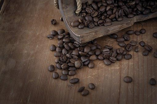 Coffee, Coffee Beans, Roasted, Caffeine, Dry, Brown