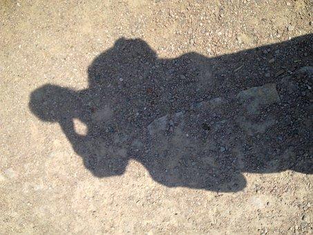 Shadow, Sandy Soil, Shadowy, Light, Close