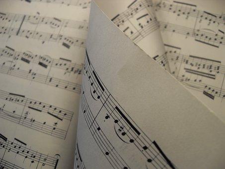Sheet Music, Music, Melody, Sheet, Score, Piano, Treble
