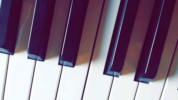 Piano, Music, Instruments, Keys, Sound, Sheet Music