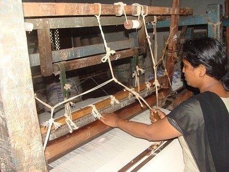 Cotton, Spinning, Khadi, Coarse Cloth, Garag, India