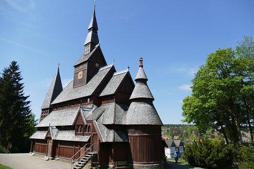 Stave Church, Goslar-hahnenklee, Old