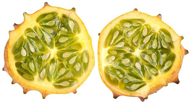 Horned Melon, Yellow, Green, Melon, Sweet, Exotic, Food