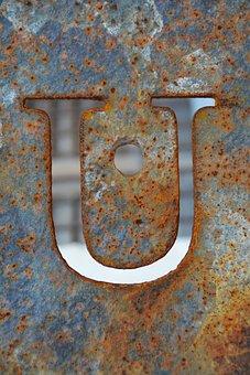 Letter, U, Alphabet, Design, Symbol, Lettering, Text