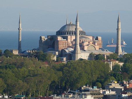 Istanbul, Turkey, Bosphorus, Sea, Outlook, View
