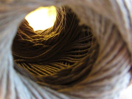 Twine, Thread, String, Light, Tunnel, Abstract