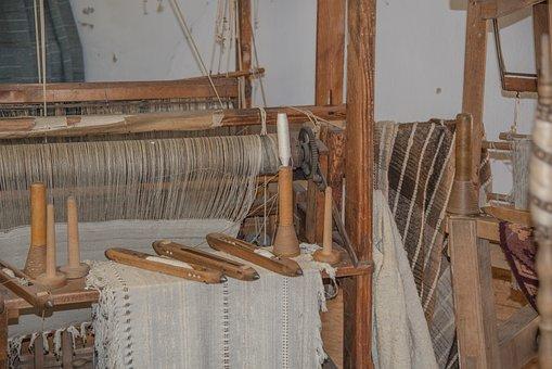 Loom, Weave, Spider, Old, Antique, Fabric, Carpet