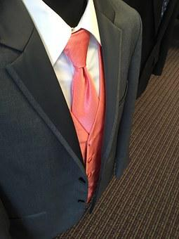 Suit, Wedding, Tuxedo, Groom, Male, Man, White