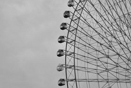 Ferris Wheel, Amusement Ride, Amusement Park, Funfair