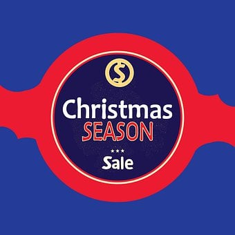 Christmas, Sale, Offer, Card, Retail, Promotion, Ad