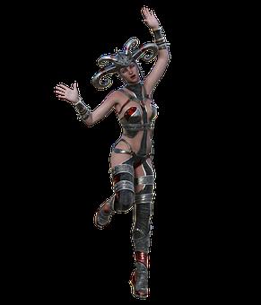 Fantasy, Character, Woman, Female, Headdress, Costume