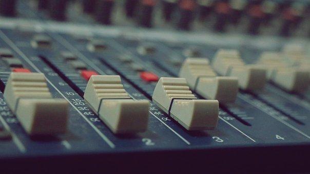 Mixer Audio, Audio, Mixer, Music, Studio, Radio, Sound