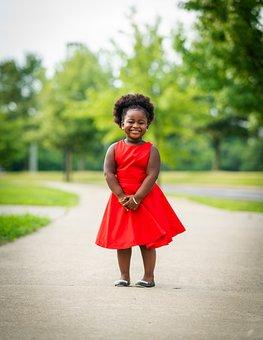 Little Girl, Model, Black, African Girl, Child