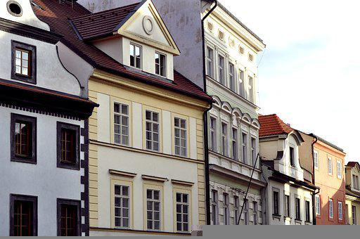 Buildings, Facades, Architecture, Town, Old City