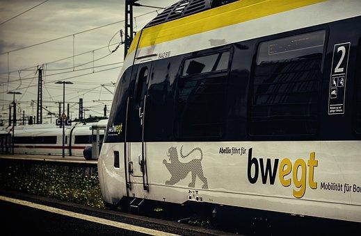 Train, Railway, Transportation, Transport, Rail Traffic