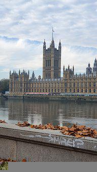 Palace, Westminster, River, River Thames