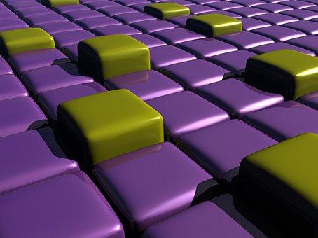 Cubes, Geometry, 3d, Geometric, Grid, Structure, Design