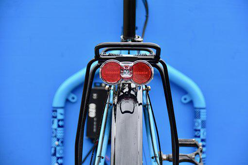 Bike, Light, Rear Lights, Sign, Bicycle Tail Light