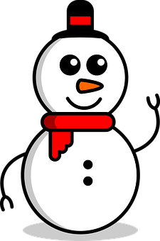 Snowman, Christmas, Winter, Snow, Scarf, Decoration