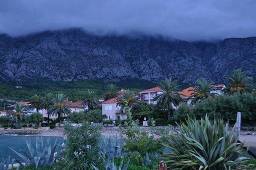 Korcula, Croatia, Storm, City, Island