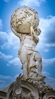 Statue, Sculpture, Greek God, God, Stone Sculpture