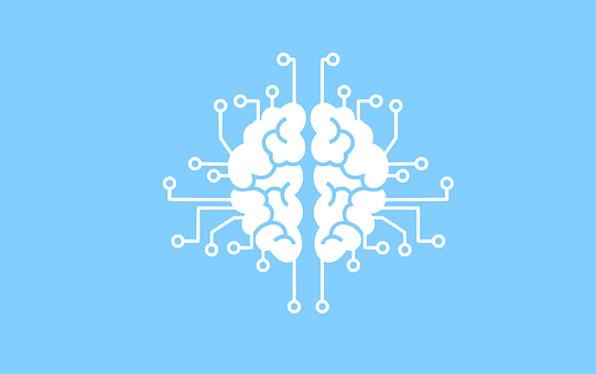 Machine Learning, Information, Brain, Mind, Logo
