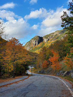 Road, Mountain, Countryside, Pavement, Roadway, Highway