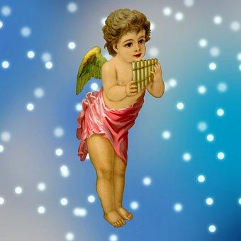 Angel, Wings, Religious, Celestial, Praying, Sky, Pray
