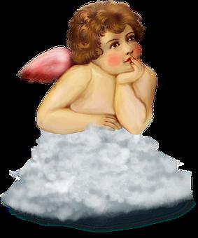 Angel, Wings, Heaven, Cupid, Valentine, Cloud, Cherub
