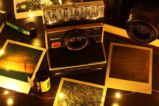 Polaroid, Camera, Photographs, Photography, Instant