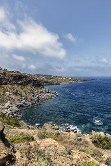 Italy, Island, Pantelleria, Sea, Sun, Sicily, Summer
