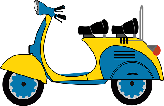 Motorcycle, Scooter, Vehicle, Wheels, Speed, Engine