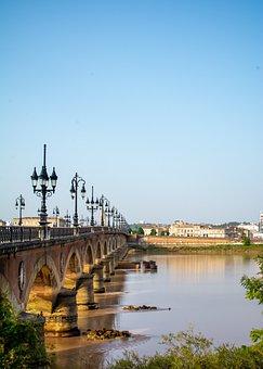 Bridge, Stone Bridge, River, Road Bridge, Historic