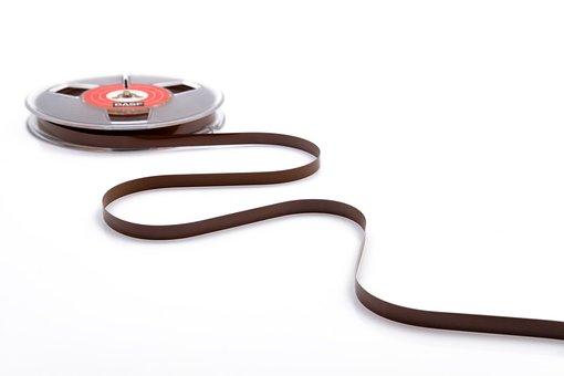 Tape, Magnetband, Audio, Music, Analog, Band, Role