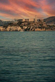Island, Building, Bay, Water, Sea, Ocean, Coast