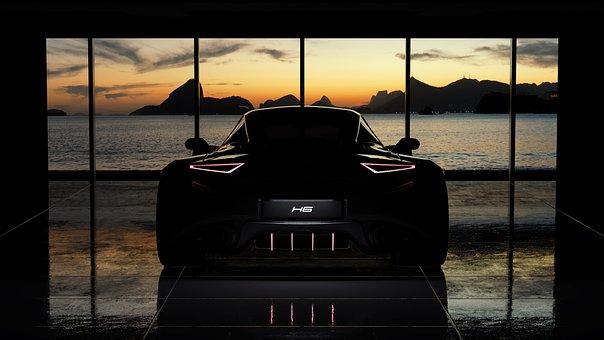 Car, Silhouette, Luxury Car, Sports Car, Auto