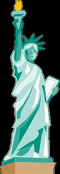 Statue Of Liberty, Symbol, America, Liberty, Statue