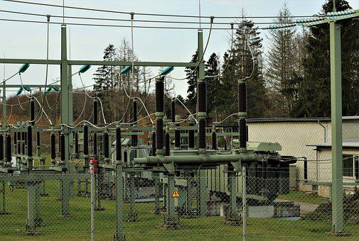 Transformer, Power Supply, Connection, Substation 2