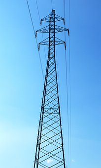 Pylon, Transmission Tower, Cables, Wires, Power Tower