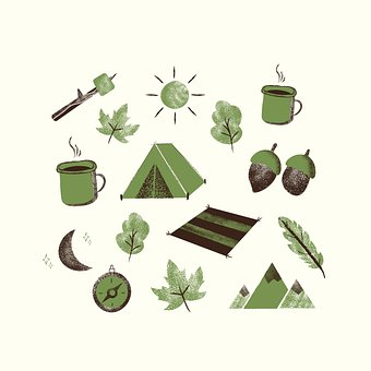 Tent, Leaves, Camp, Camping, Season, Trees, Forest
